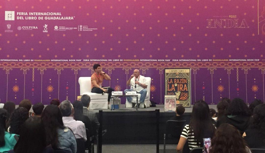 Los libros son herramientas de cambio en los jóvenes: Benito Taibo