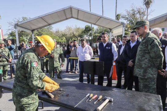 Llama gobernador de Tamaulipas a combatir tráfico de armas