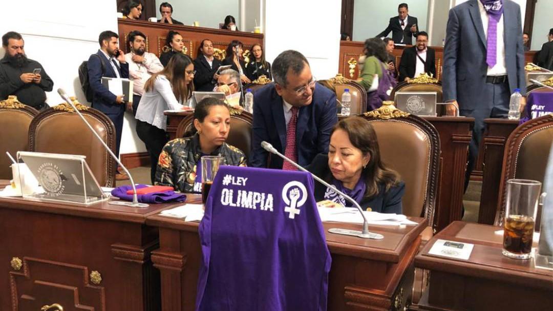 Aprueban Ley Olimpia en el Congreso de la CDMX