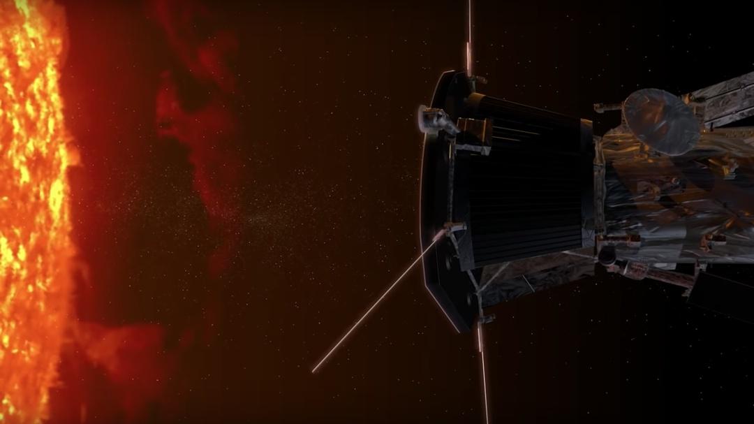 """Por primera vez una nave """"toca"""" el Sol y capta fenómenos nunca antes vistos"""