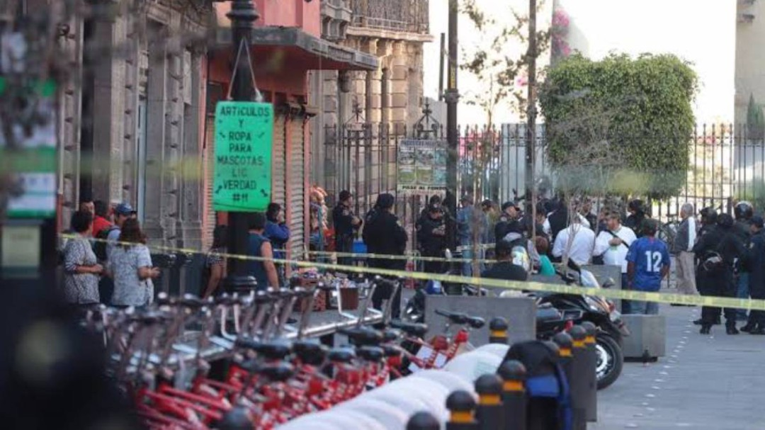 Aumenta a 5 número de muertos por balacera cerca de Palacio Nacional