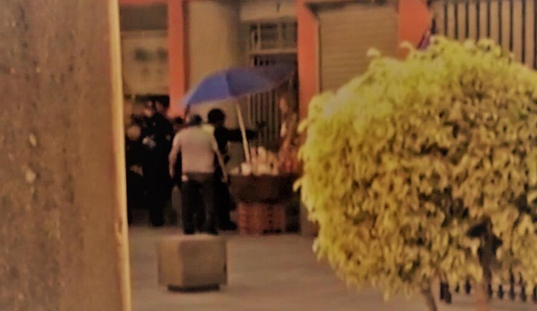 Difunden video de la balacera cerca de Palacio Nacional