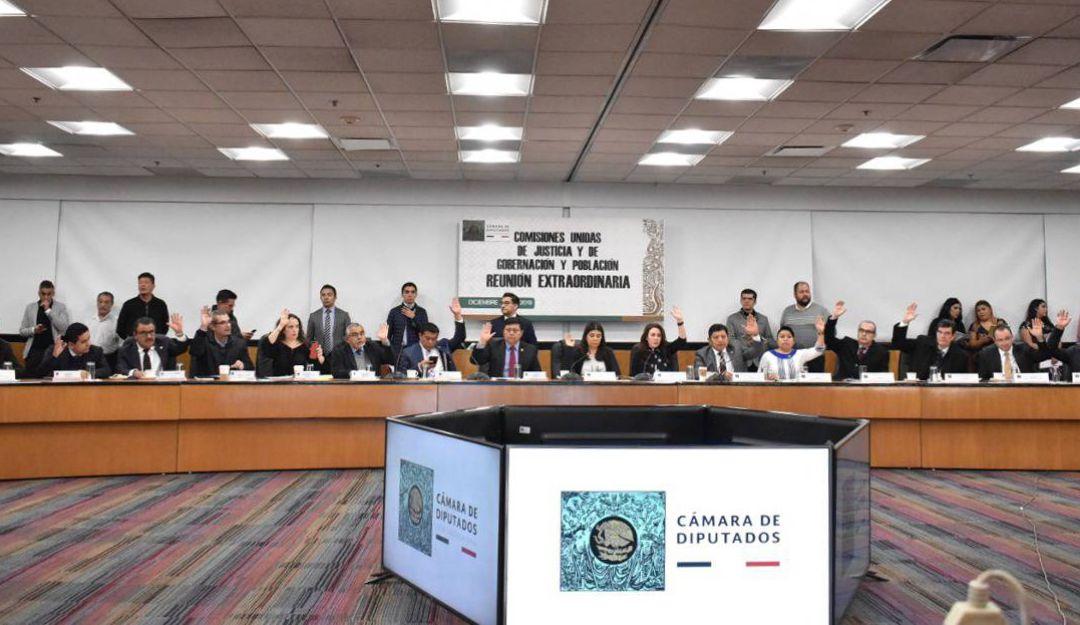 Diputados aprobaron en comisiones Ley de Amnistía