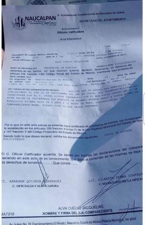 Con información de la página Los Machos no matan en México ya existía una denuncia por violencia doméstica contra Pedro.