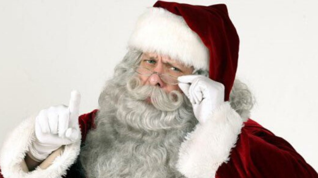 ¡Santa is in da house!