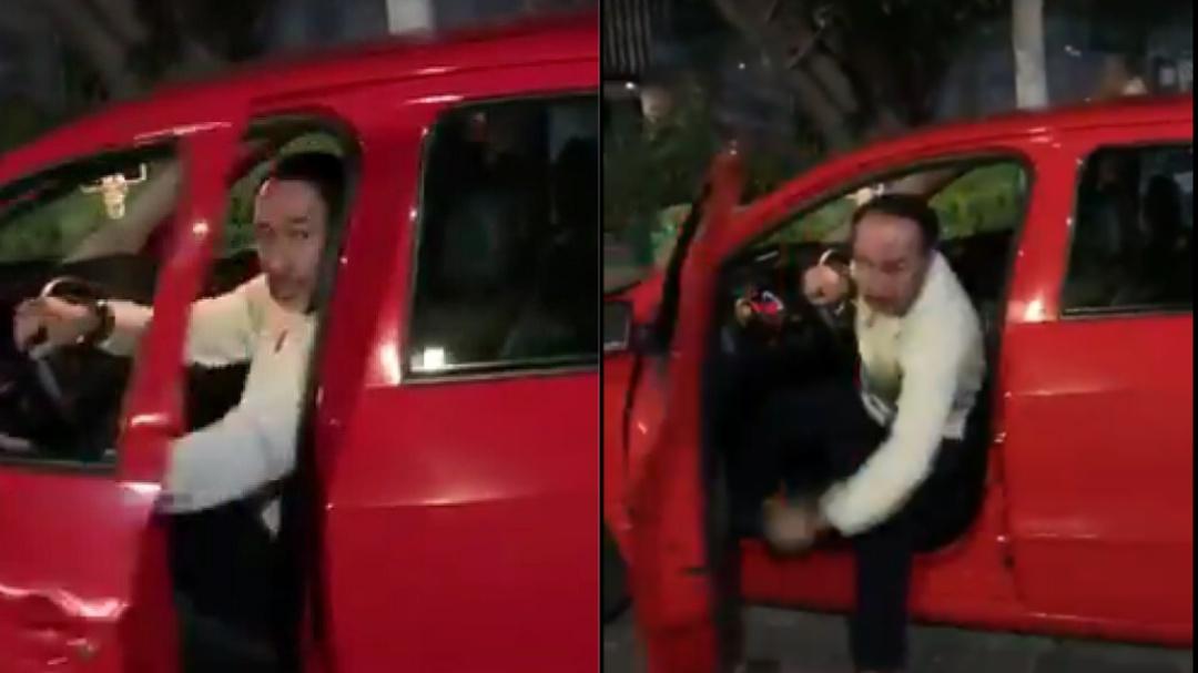 """""""¿A quién le dices gato?""""; conductor insulta y agrede a joven en Polanco"""