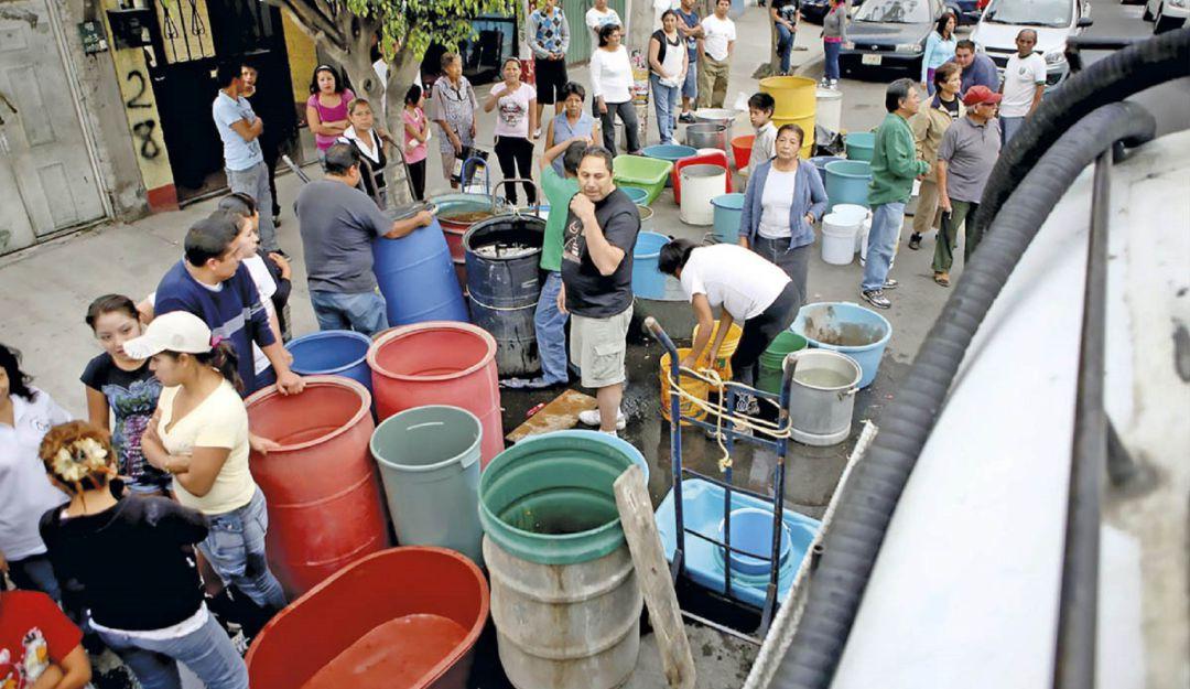 Habrá recorte de agua en EdoMex