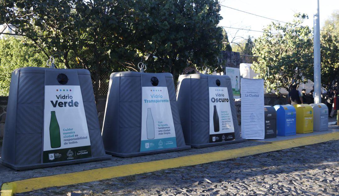 Anuncia Guadalajara programa de recolección de vidrio