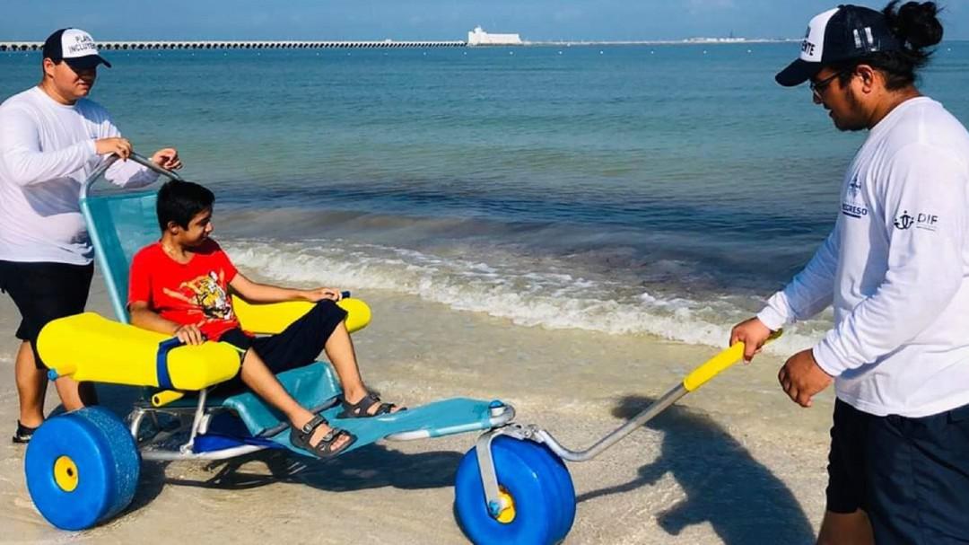 SOPITAS: Puerto Progreso, la cuarta playa incluyente de nuestro país