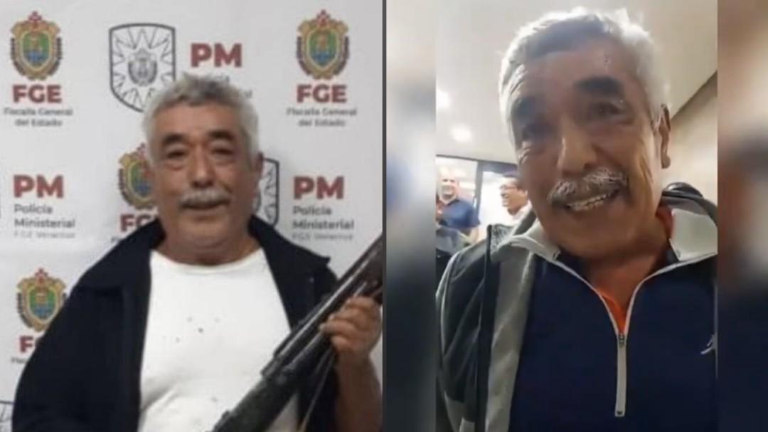 Liberen a Don Ramón; luego de hacer viral la petición, juez lo manda a casa
