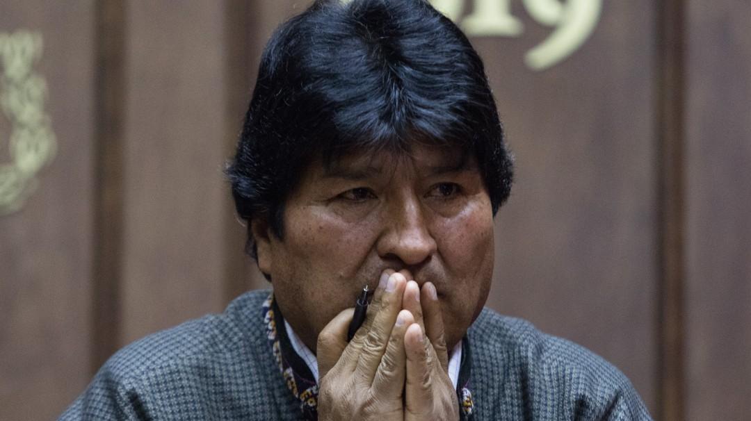 Bolivia gira orden de aprehensión contra Evo Morales