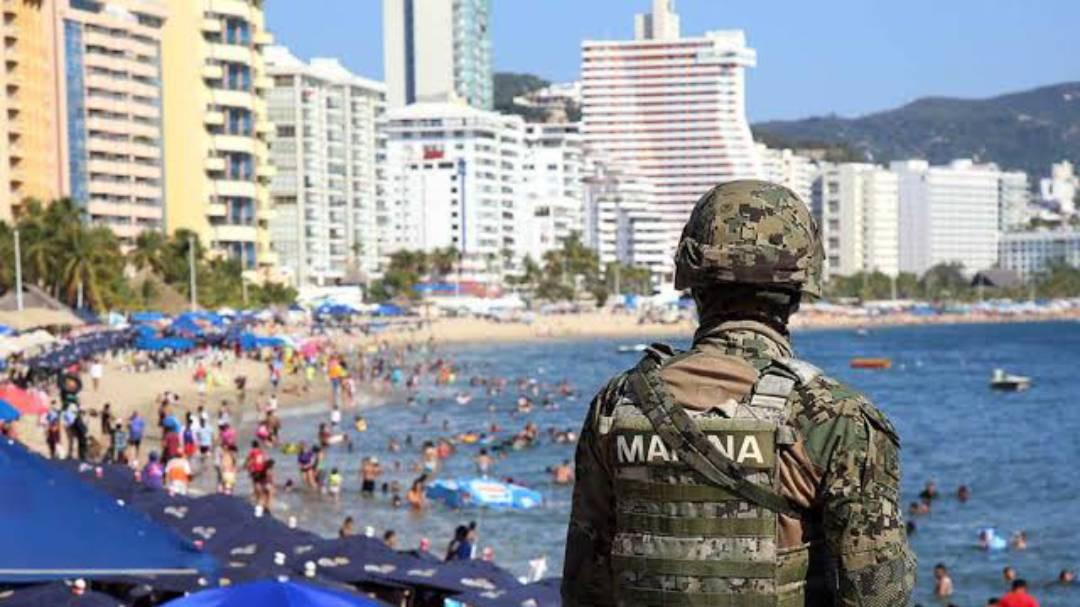 Marina aplica operativo de seguridad y vigilancia en playas