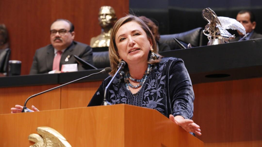 Gertz y Nieto deben actuar contra Bartlett: Xóchitl Gálvez