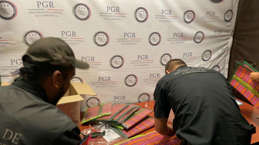Aseguran siete kilos de cocaína en el aeropuerto de Guadalajara
