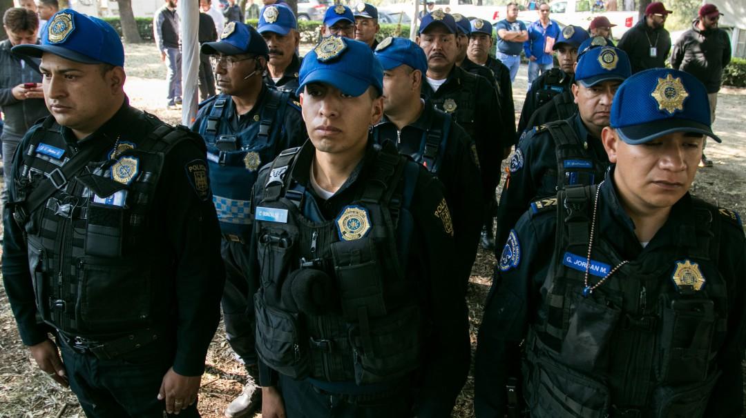 Ocho mil policías vigilan Nochebuena y Navidad en CDMX