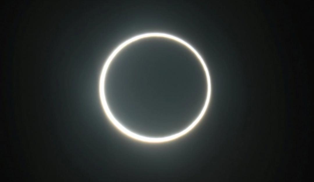 Así se vio el último eclipse solar de la década