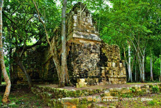 Así es el Palacio Maya descubierto en Kulubá Yucatán con más de mil años