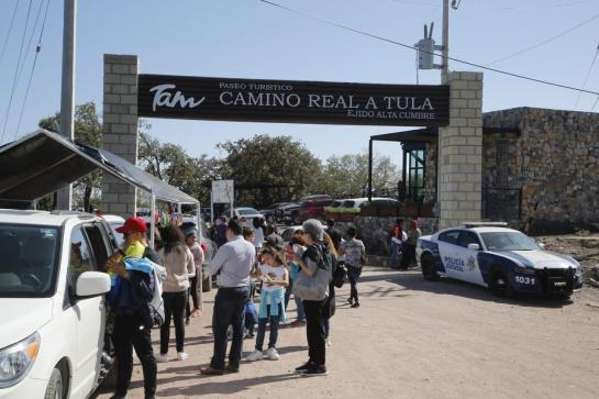El Camino Real a Tula fue inaugurado el 12 de diciembre