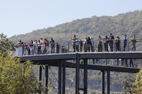 El mirador del Camino Real de Tula en Tamaulipas brinda una gran experiencia a los vacacionistas
