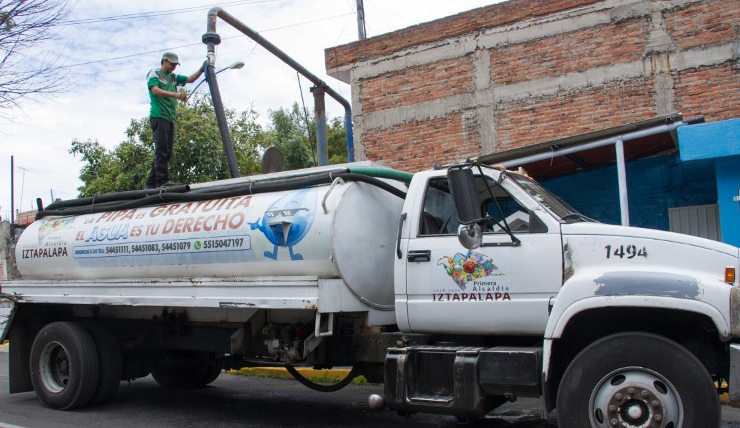 Suspenderá Sacmex servicio de agua en Iztapalapa