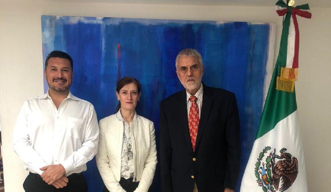 Envía México nuevo encargado de Negocios a Bolivia