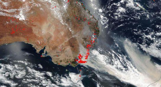 """""""Los incendios catastróficos están devastando grandes extensiones de Australia"""""""