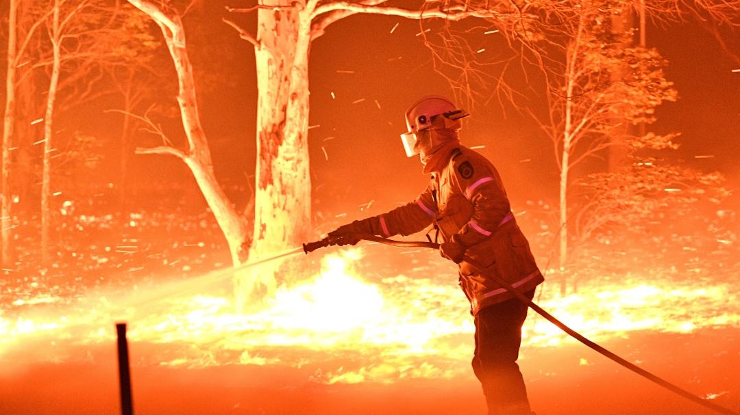 Los incendios de Australia en imágenes