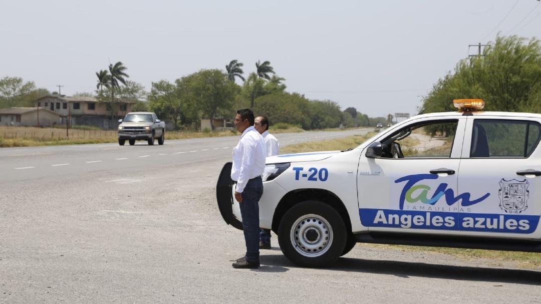 Auxilio mecánico de Tamaulipas benefició a 37 mil turistas