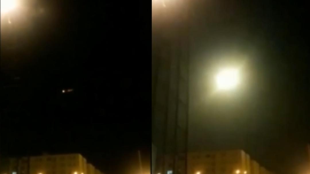 Video revela momento en el que misil habría impactado avión en Irán