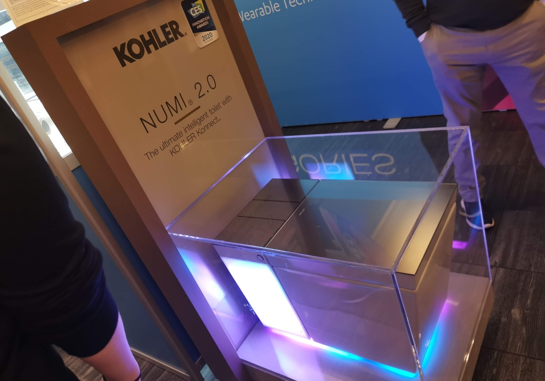 CES 2020: Se presentó un inodoro inteligente y personalizable