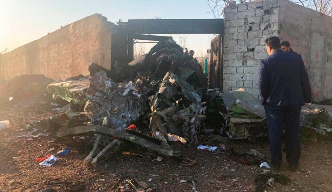Irán pide a Canadá compartir información sobre derribo de avión ucraniano
