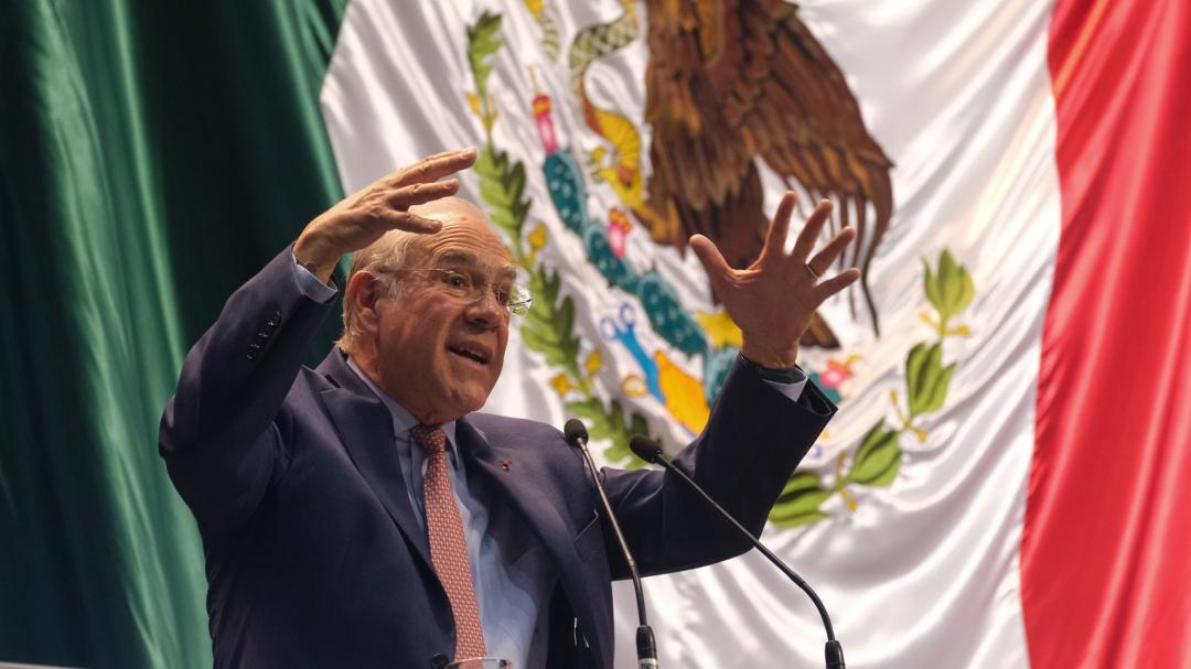 """Sin reforma fiscal seguiremos teniendo un """"gobierno chiquito"""": Gurría"""