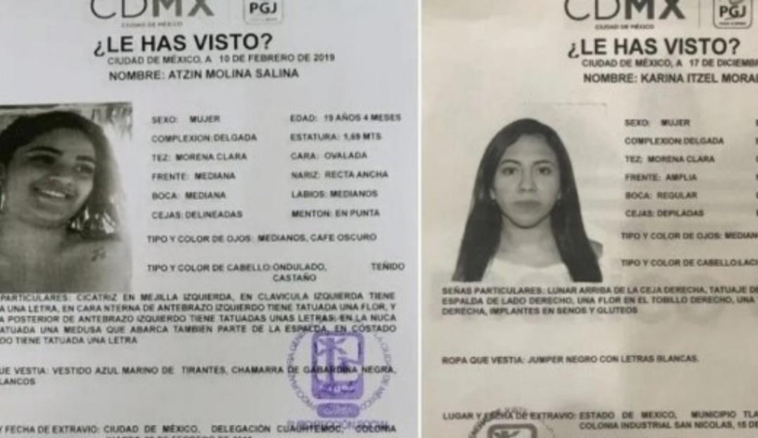 """Ofrecen millonaria recompensa para localizar a """"novias de La Unión Tepito"""""""
