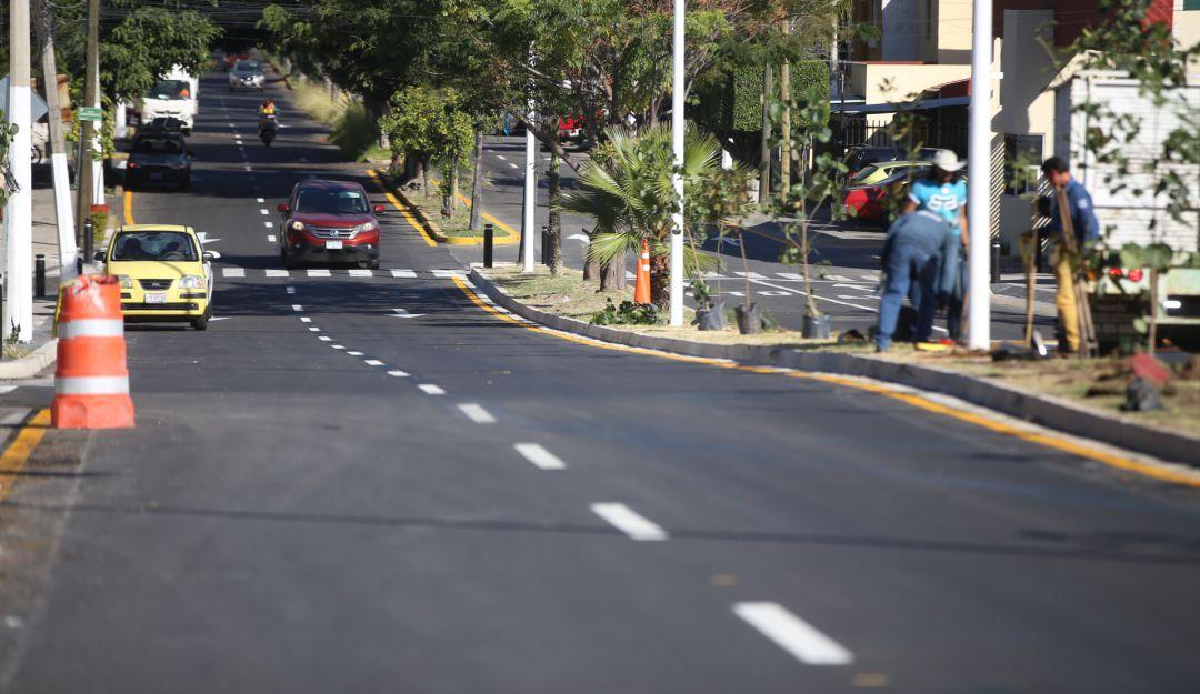 Amplían a cuatro carriles la Avenida Navío de Zapopan