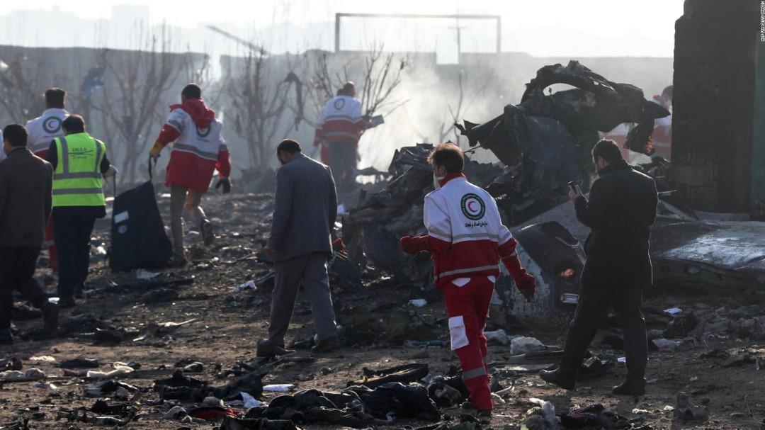 General iraní asume responsabilidad por derribo de avión ucraniano