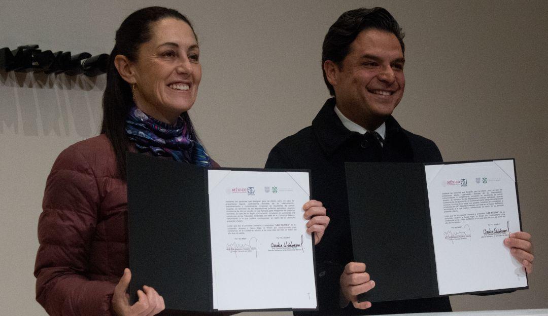 Firman IMSS y CDMX convenio para formalizar empleos