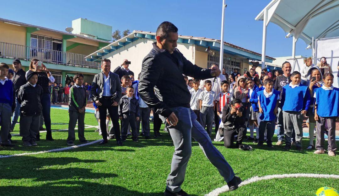 Rehabilitan escuela República Mexicana en Zapopan