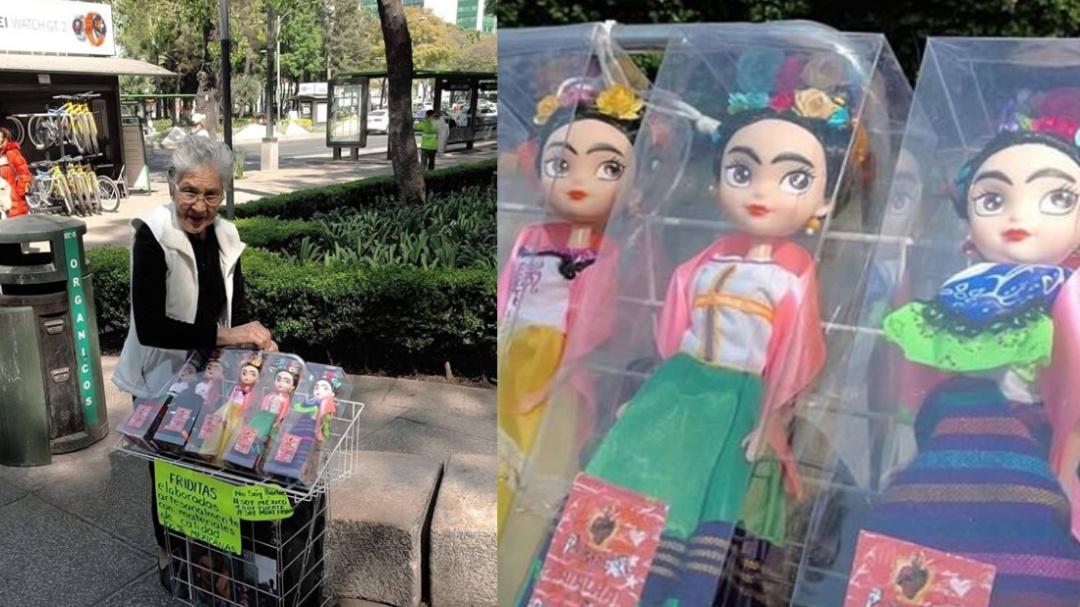 Friditas: las muñecas artesanales hechas por una abuelita en la CDMX