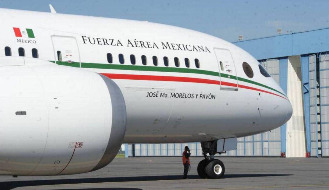 Avión presidencial podría ponerse en renta o venta en partes