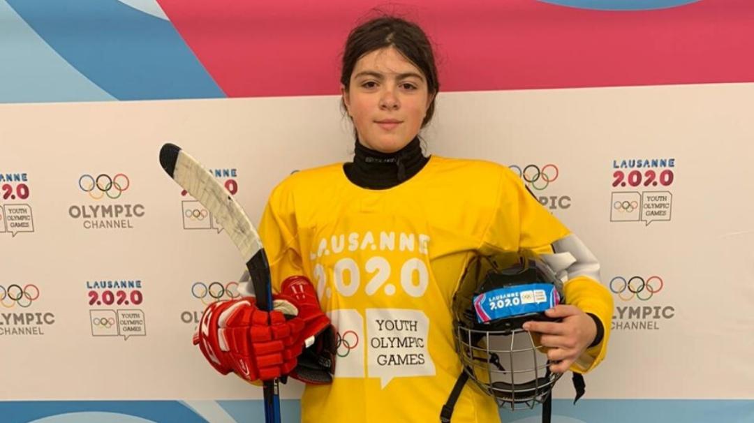 Laura Wilson, la primera mexicana en ganar medalla de oro en Lausana 2020