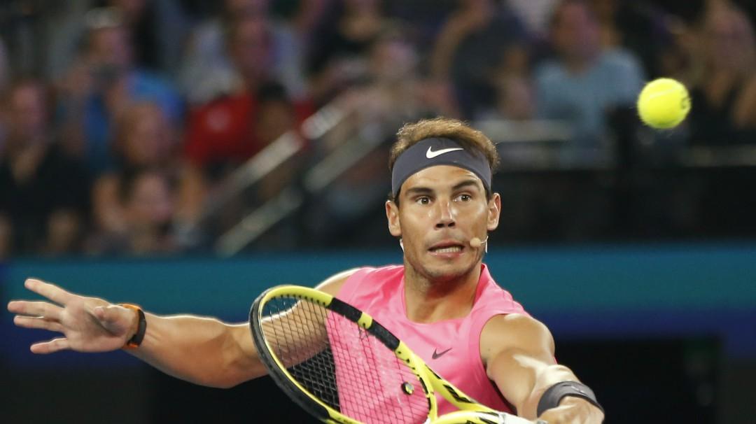 Rafael Nadal encabeza el Abierto Mexicano de Tenis
