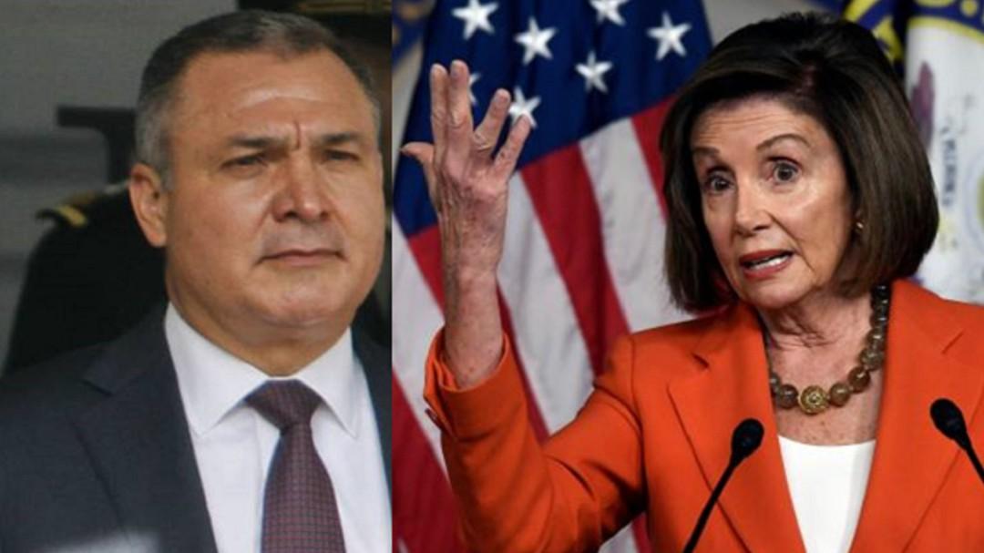 García Luna es cruel y Nancy Pelosi, inflexible: Grafóloga