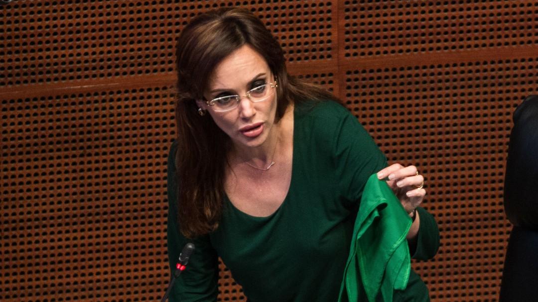 Revoca TEPJF la petición para separar de Morena en el Senado a Lilly Téllez
