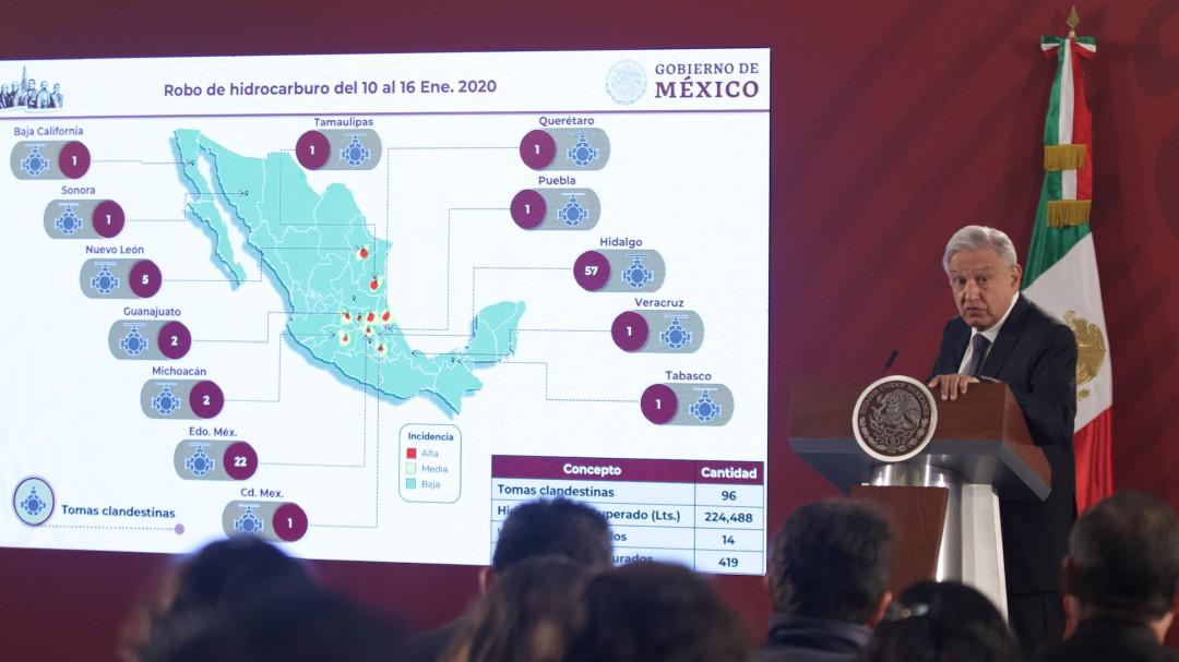 Sigue huachicoleo en Tlahuelilpan... Hidalgo, primer lugar en este delito