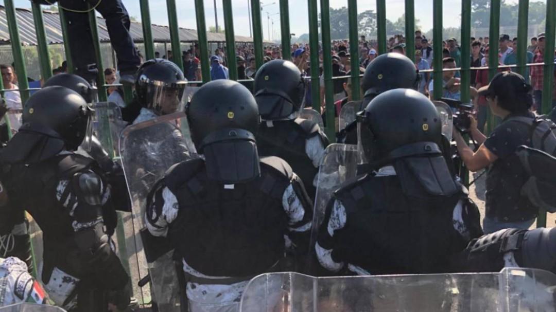 Regresan migrantes a Guatemala ante cerco de GN