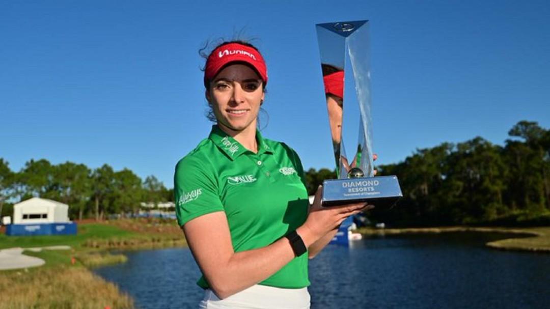 Gaby López, golfista mexicana, gana su segundo título de la LPGA