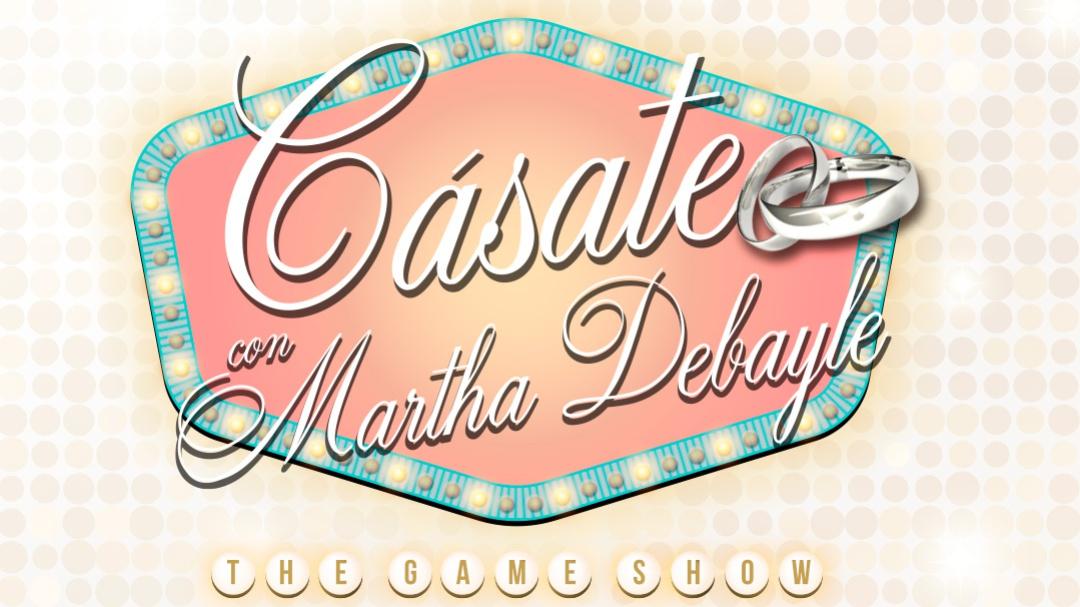 Lanzamiento: Cásate con Martha Debayle 2020