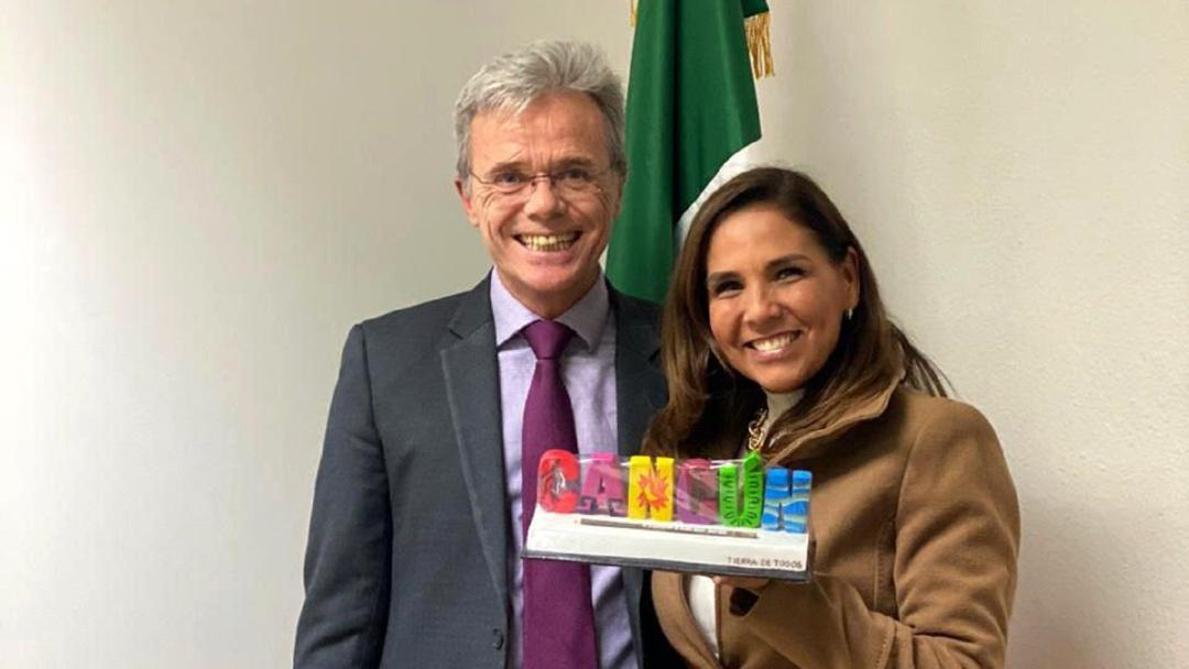 Logra Mara Lezama alianza con embajada de México en España