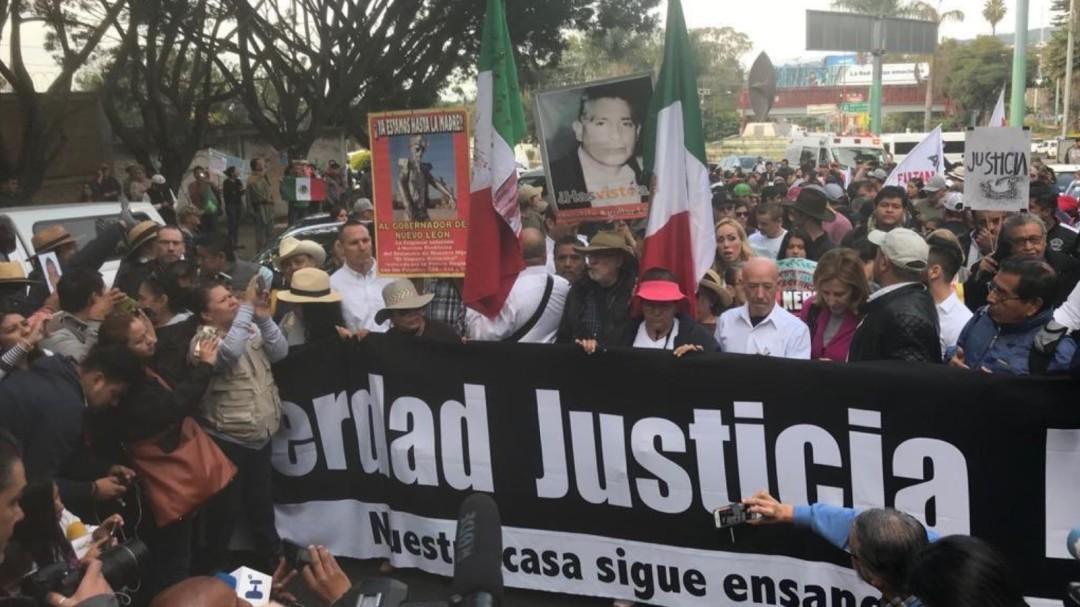 Inicia Caminata por la Verdad, la Justicia y la Paz