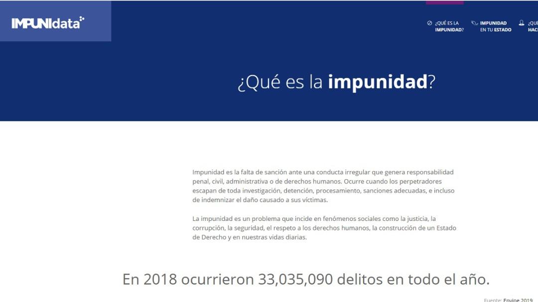 Sin denuncia 93% de los delitos en México: Impunidad Cero